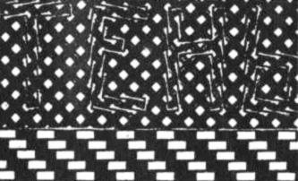 Рис. 32. Эти буквы стоят прямо, а линии основания параллельны!