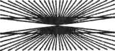 Рис. 28. Искажение параллельности линий (иллюзия Цельнера)