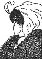 Рис. 16. Кого вы видите на этом рисунке (молодую или старую женщину)? Это зависит от направленности вашего восприятия - от того, что вы выделяете в качестве основы для принятия перцептивного решения.