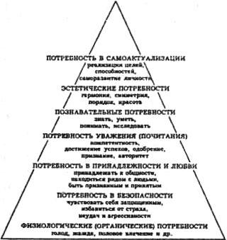 Пирамида потребностей человека Маслоу
