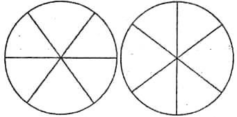 На рисунке слева преимущественно выделяются два вертикальных сектора, на правом - горизонтальные секторы