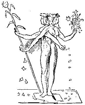 Аллегорическая фигура Леонардо да Винчи