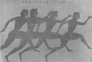 Рисунок с греческой вазы