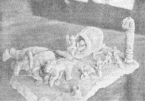 «Тройка». Скульптура Ардальона К.