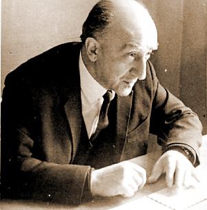 Б.Г.Ананьев — декан Факультета психологии. 60-е гг. ХХ в.